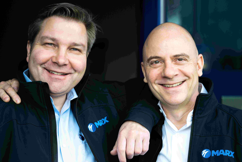 Geschäftsführer Robert Marx und Knut Reher